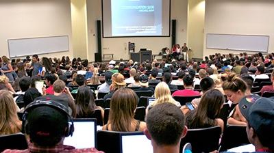 Lecture Hall Take Open U Classes